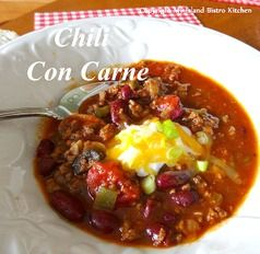 Chili After the Sleigh Ride