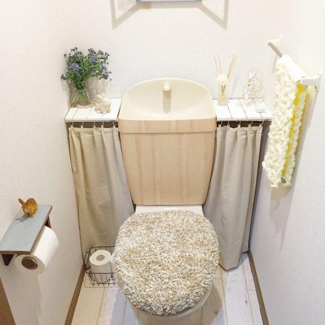 トイレ改造計画!賃貸でもOK☆DIYアイデア集 | RoomClip mag | 暮らしとインテリアのwebマガジン