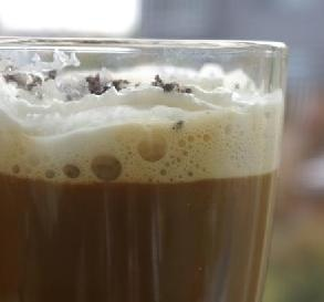 """Fake-a-Frappuccino""""Refreshing drink! I used leftover coffee from the morning, and it worked well. Certainly a nice 'pick me up' for the afternoon."""" -Nancy's Pantry"""
