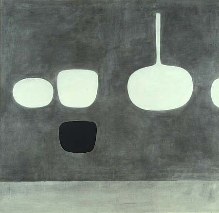 William Scott, Grey Still LIfe, 1969, Scottish National Gallery of Modern Art, Edinburgh: purchased 1972.