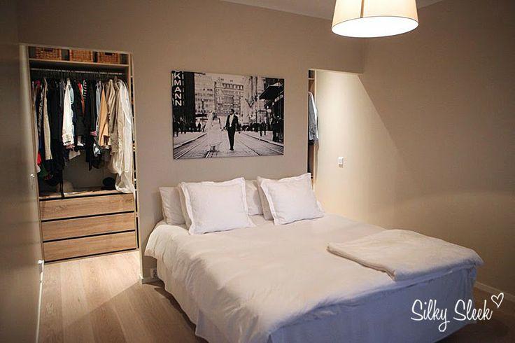 Bedroom & walking closet http://silkysleek.blogspot.fi/