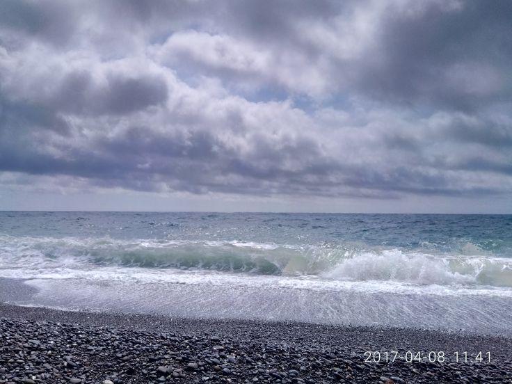 пляж  Морское Крым Россия