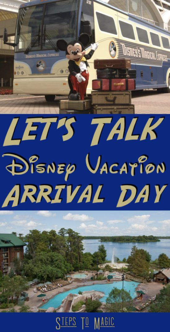 What to do on your Vacation Arrival Day at your Walt Disney World Resort Let's be honest…you're excited to get your vacation started. Most of us have spent months planning the perfect experience, from amazing ADRs, to Fastpass+ Reservations, to what snacks we want to eat. So instead of giving you a list of things that …