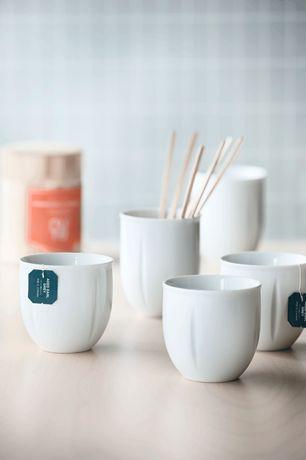 Grand Cru Soft Thermos Cups, pack of 2 White, 2 pcs., Ø 8,8 cm