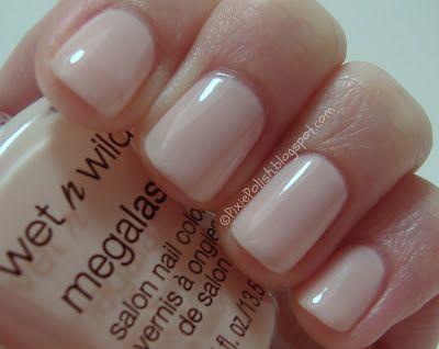 Wet n Wild - Sugar Coat (Megalast line) my favorite new nail polish!!