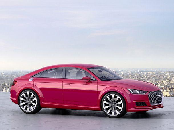 Audi TT Sportback concept #MondialAuto