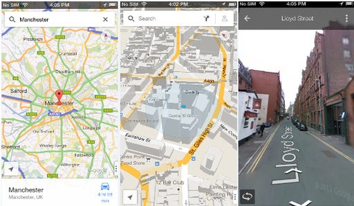 Google has released its Maps app for the iPhone, in the wake of complaints about Apple's software.