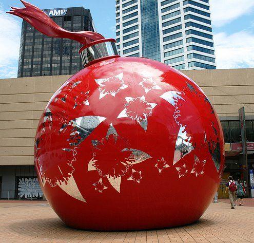 Giant Christmas Decoration Pinterest