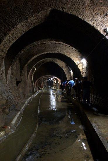 Torrente Aposa La riscoperta del corso sotterraneo = Realizzazione: anno 2000 - PROGETTO E DIREZIONE DEI LAVORI arch. Francisco Giordano