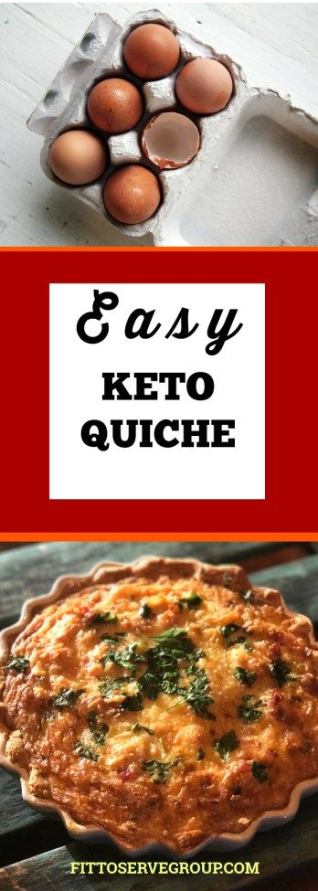 An easy keto quiche recipe you will be proud to serve.