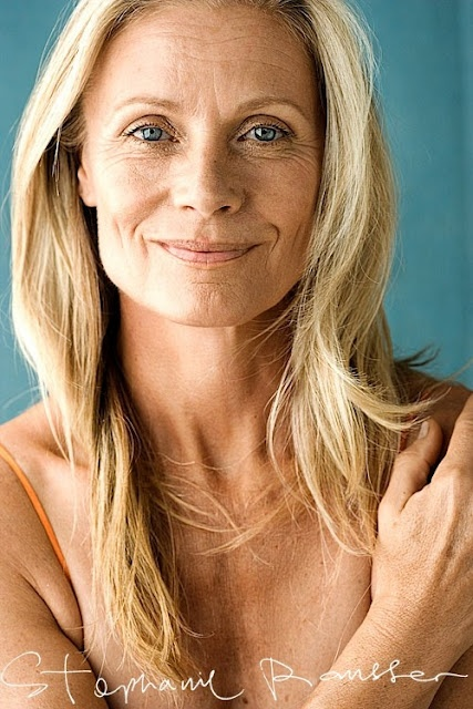 women who age excitedly, beautifully, naturally. Every wrinkle a story!
