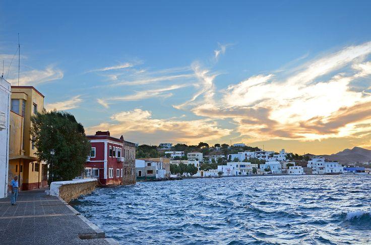 Port of Agia Marina. Leros island