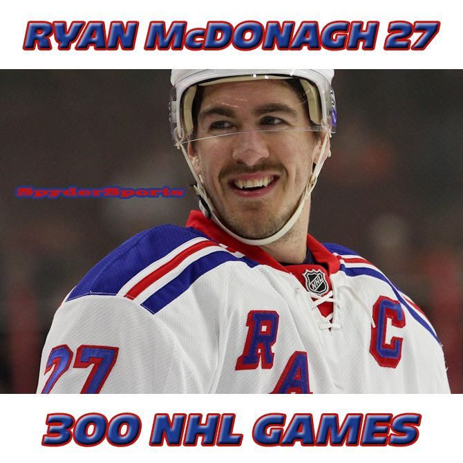 Ryan McDonagh Reaches 300 NHL Games | Spyder Sports Lounge