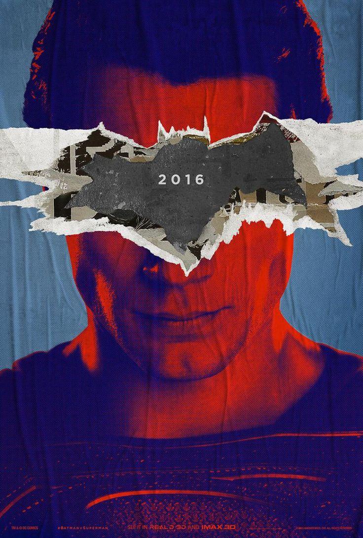 Новые постеры: «Бэтмен против Супермена: На заре справедливости». В новом фильме Зака Снайдера Темный рыцарь и Человек из стали окажутся вне закона.