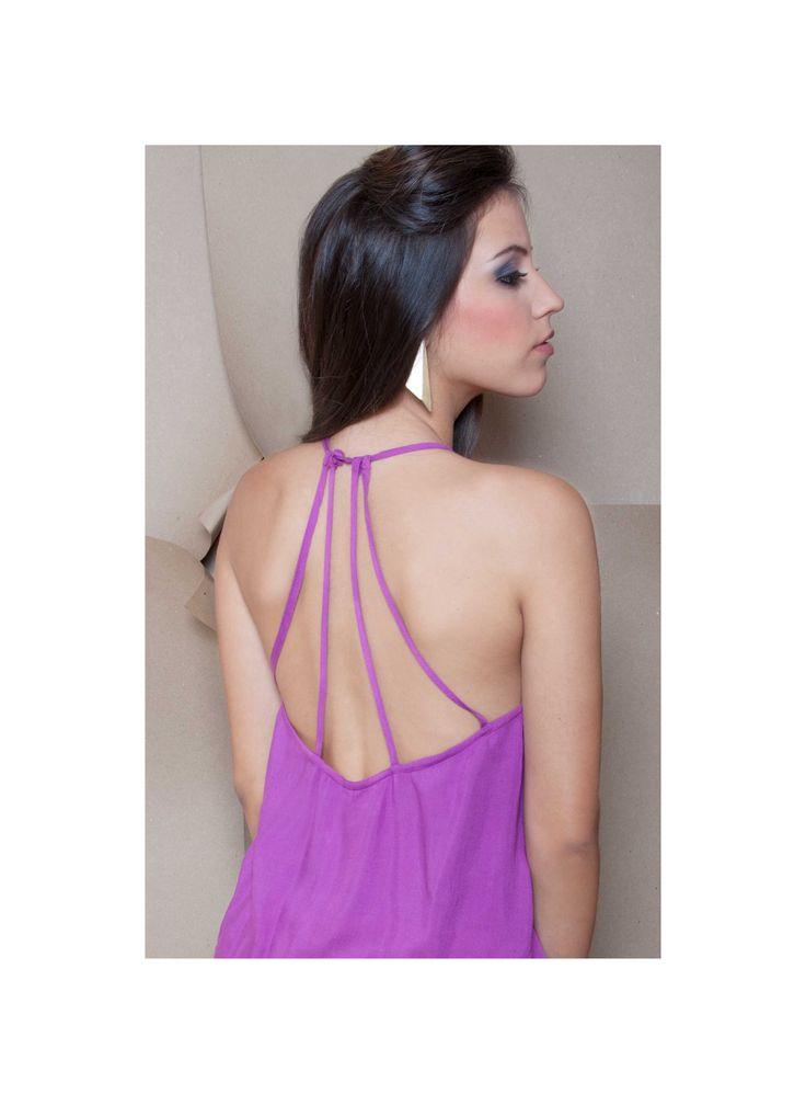 Blusa morada tiritas traseras ZOCCA'S NEW COLLECTION !!! Encuentranos en nuestra tienda en linea . Ingresa a www.zocca.com.co . #clothing #fashion #eshop #tiendaenlinea #blusamorada #blusatiritas