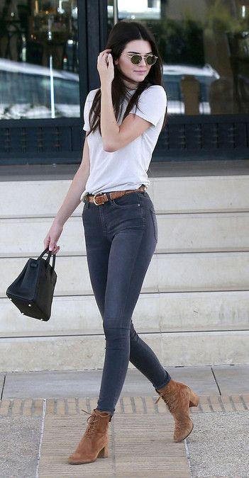 Kendall Jenner y su estilo más casual