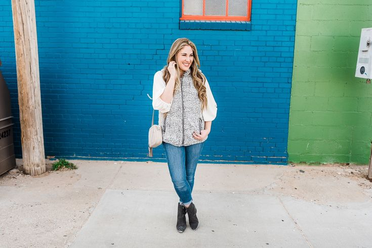 Cozy Winter Style with Fleece & Faux Fur     #winterstyle #winterfashion #cozystyle #fauxfurvest