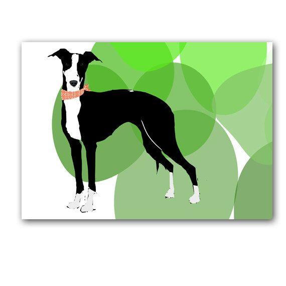 Italian Greyhound Art Fine art print  by ialbert on Etsy