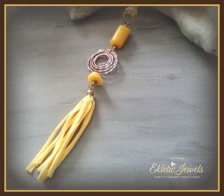 Boho and gypsy necklace