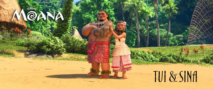 Temuera Morrison voices Moana's father, Chief Tui, the gregarious and well-respected leader of the people of Motunui Island. Nicole Scherzinger voices Moana's mother, Sina, who always has her daughter's back.
