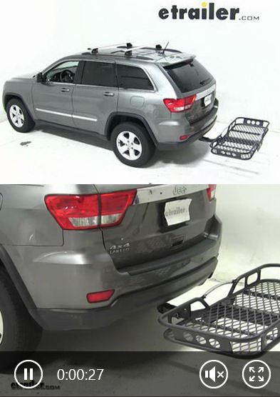Watch how to install cargo carriers on the Grand Jeep Cherokee and find out which cargo carrier is best for you and your Jeep based on user reviews!
