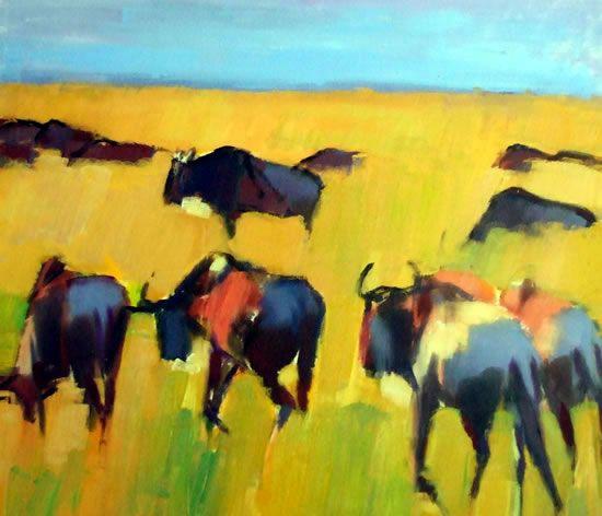 Timothy Brooke | paintings