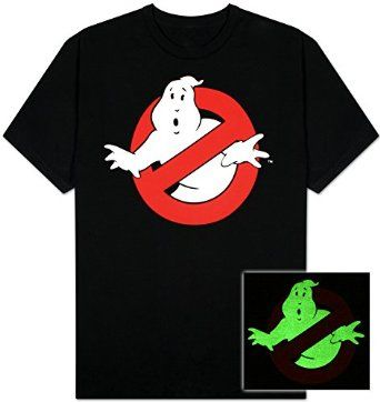 Amazon.com: Ghostbusters - Ghost Logo T-Shirt: Clothing