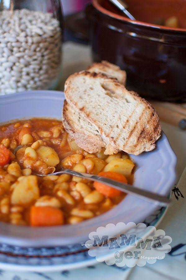 La zuppa di fagioli!