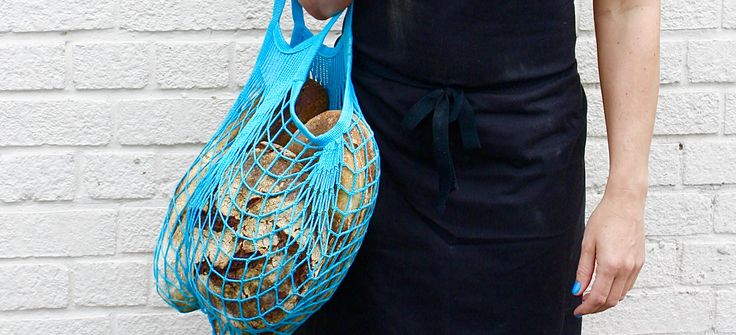 The French Net Bag - Making a comeback.