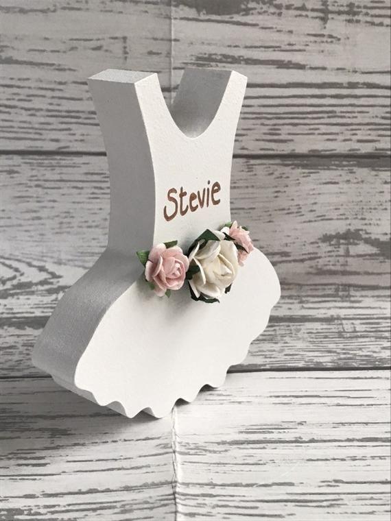 Bridesmaid Maid of Honour Flower girl Keepsake bouquet charm gift personalised