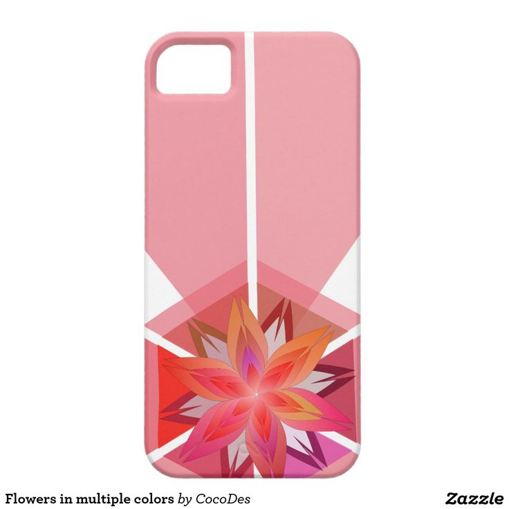 Flowers in multiple colors #iPhone SE/5/5S case #zazzle http://www.zazzle.com/flowers_in_multiple_colors_iphone_se_5_5s_case-179271257802948910