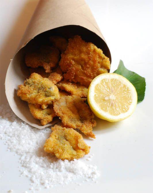 Bocconcini di sardine fritte