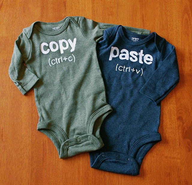 Someday when I know somebody that has twins, I will make these :)