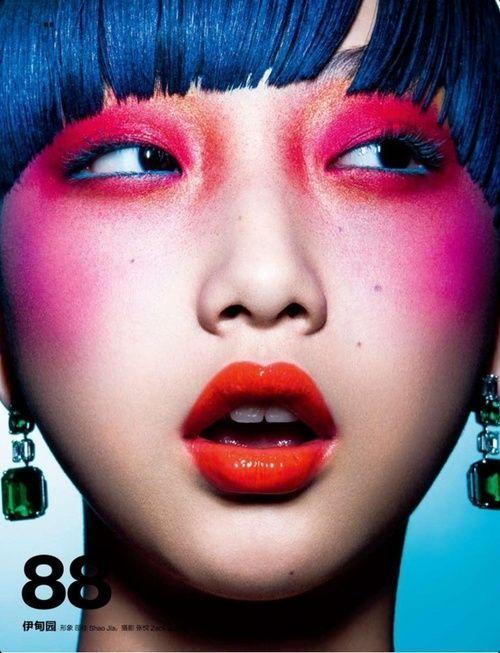 High color make-up visit here to find a Asian Girl to date