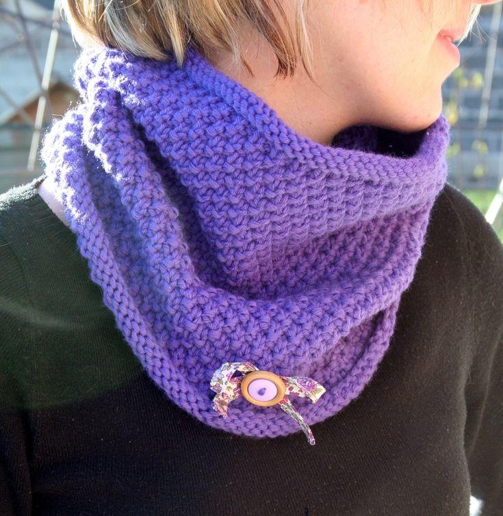 Comment tricoter sur des aiguilles circulaires - Comment tricoter avec des aiguilles circulaires ...