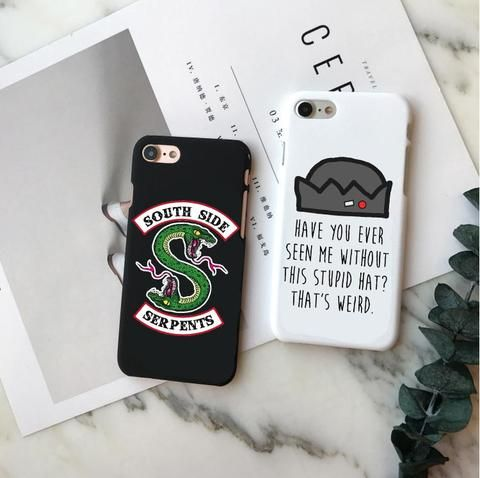 American TV Riverdale Jughead Jones Woz Here Hard PC Phone Case For iPhone 5 5S …