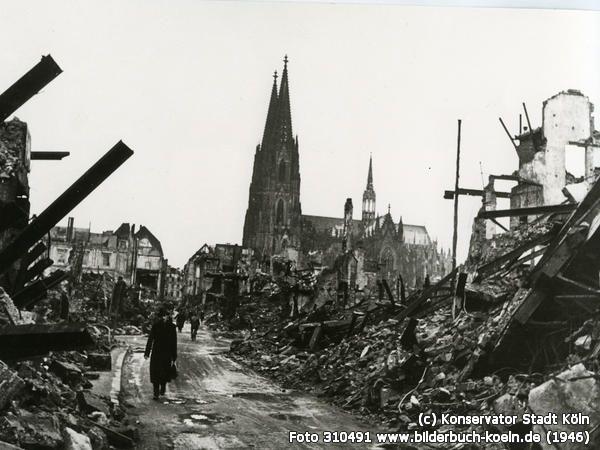 Pin Auf Koln 1945