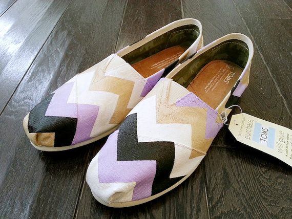 I love the painted toms but when they get wet or dirty they are completely ruined and look like poop. :/