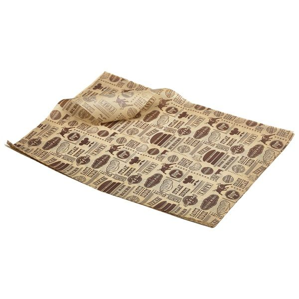 Brown Steak House Design Greaseproof Paper