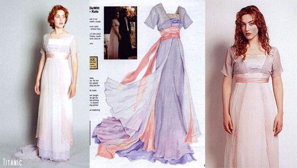 Robe parme et rose Rose Dewitt Bukater Titanic - love this dress!