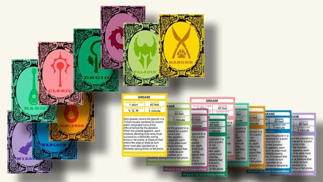 D/&D Spellbook Cards 128 Cards Bard