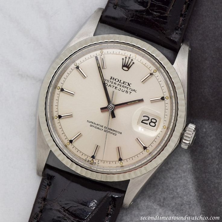 JUST IN STOCK: A 1970 Vintage Rolex Datejust Reference 1601. Simply, a classic. No frills. A classic, vintage timepiece. Ranks in at 36mm, 14K White Gold & Stainless steel, Original dial. (Store Inventory # 11448, listed at $3350, available now for...