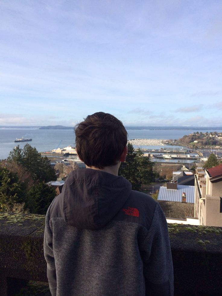 View from Upper Queen Anne on a Sunday Morning