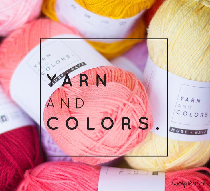 Yarn and Colors - Wolplein.nl