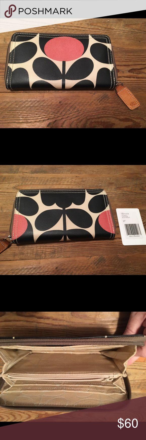 Orla Kiely Wallet Excellent condition  Orla Kiely Zip around wallet Orla Kiely Bags Wallets