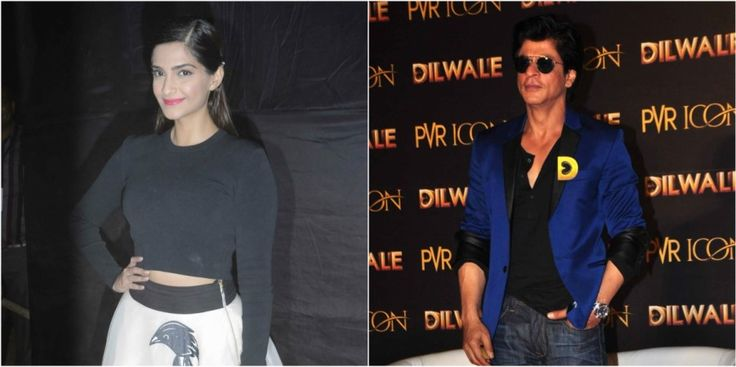 Will Sonam Kapoor be paired up with Shah Rukh Khan in his upcoming movie?