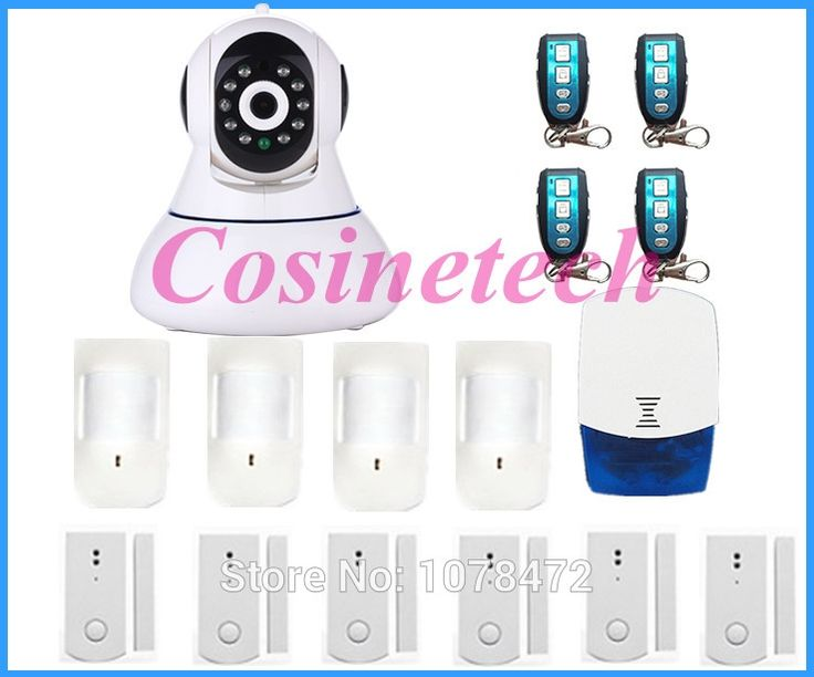 244.39$  Buy here - http://ali61b.worldwells.pw/go.php?t=32597456567 - Brand new HD 720P Wireless WIFI IP Camera Onvif Video Surveillance Security system, GSM camera alarm system for home safety 244.39$