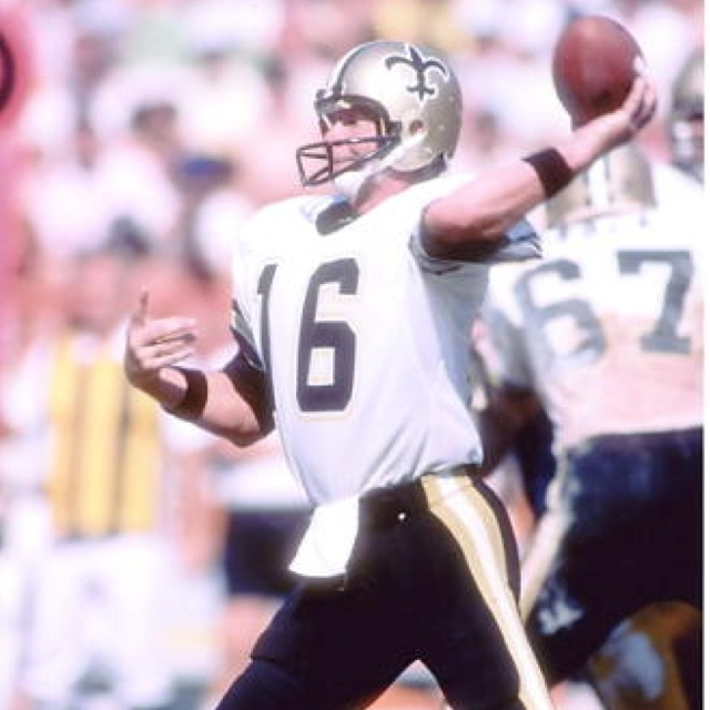 sports shoes c5659 fddb7 ken stabler new orleans saints jersey