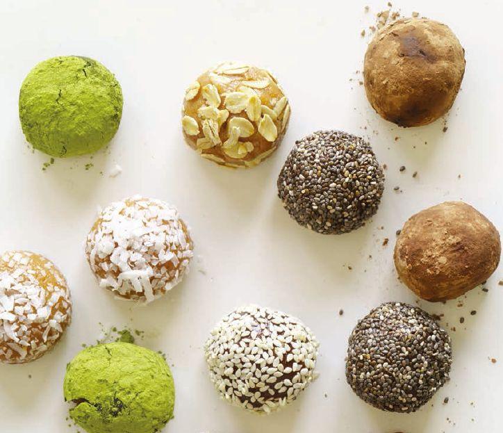 Recipe: Five-Minute Protein Truffles