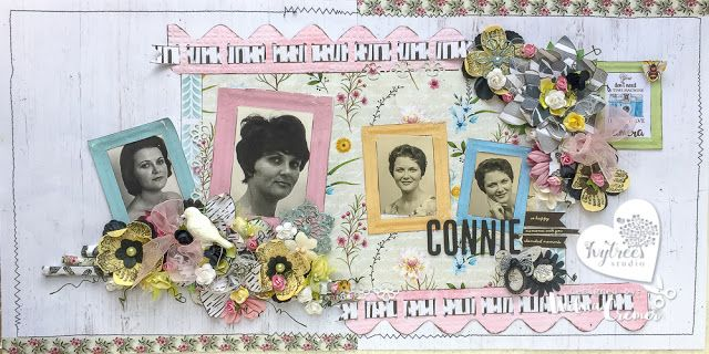 Precious Moments: Vintage Mother's day double layout - Ivytree Studi...